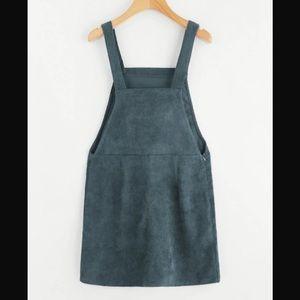 350480c00af Urban Outfitters Dresses - HOST PICK Corduroy Overall Dress w Bib Pocket